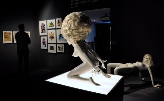 Stanley Kubrick_La naranja mecánica_Exposición en CCCB_Foto AtmosferaCine
