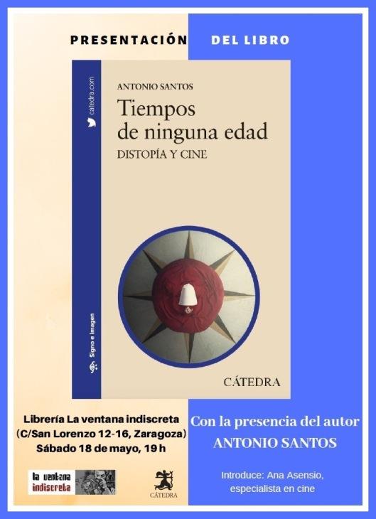 Libro_Antonio Santos_Presentación_Zaragoza_La ventana indiscreta
