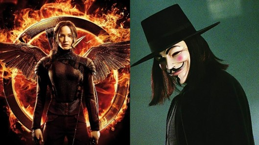 Katniss Everdeen_The Hunger Games_V de Vendetta