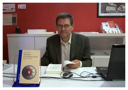 Antonio Santos-Tiempos de ninguna edad, distopia y cine-Presentacion libro-Zaragoza-Foto Atmosferacine