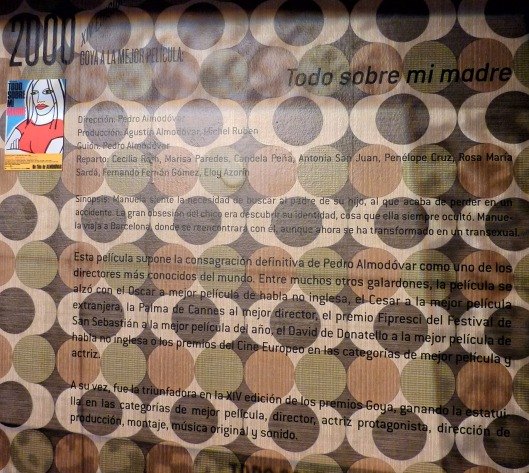 Exposicion 25 aniversario Premios Goya-Madrid