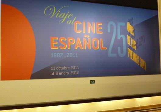 Exposición-Viaje al cine español_25 años Premios Goya-Madrid