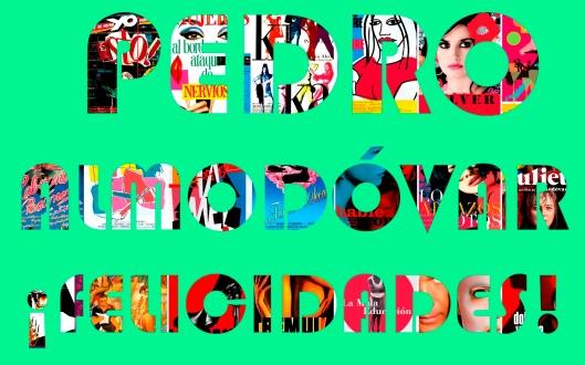 Pedro Almodovar-Collage-Carteles Cine-Atmosferacine