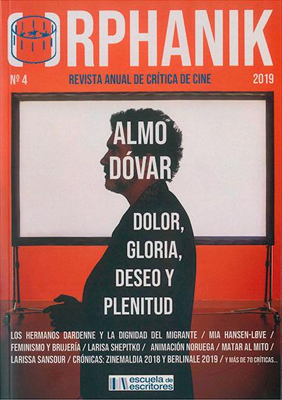 Orphanik-Revista Cine-2019-Portada-Pedro Almodovar-Dolor y gloria