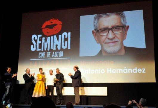 64 SEMINCI-Valladolid-Gala Cine Castilla y Leon-21 octubre 2019-Homenaje Antonio Hernandez-Foto Atmosferacine