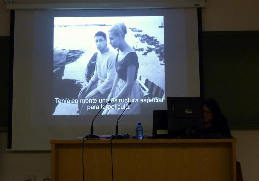Angelica Tanarro-Curso Cine-Universidad Valladolid-2019