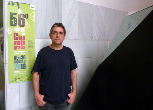 Jordi Costa-Divulgador cultural-Investigador-Escritor-Valladolid-2019-Foto Atmosferacine