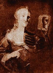 La muerta viva-Cuadro-Ramon Gomez de la Serna