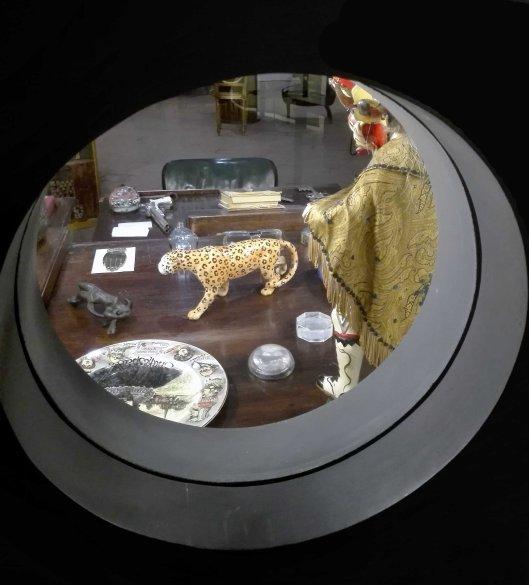 Ramon Gomez de la Serna-Despacho-Sala Museo Arte Contemporaneo-Madrid-Detalle