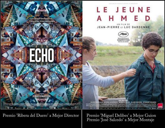 2019 Seminci-Premios-Ribera del Duero-Miguel Delibes Guion-Jose Salcedo Montaje
