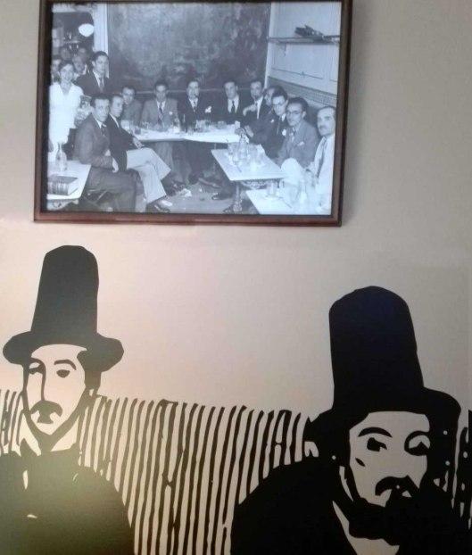 Gomez de la Serna-Tertulia Cafe Pombo-Madrid