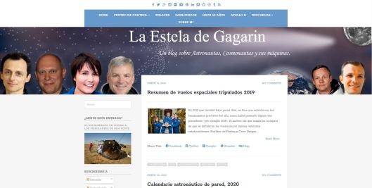 La estela de Gagarin-Portada-Blog de Carlos Lallana Borobio