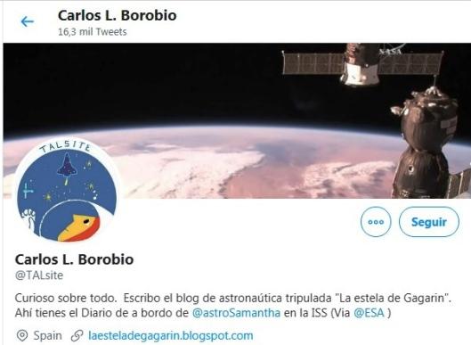 Carlos L. Borobio-La estela de Gagarin
