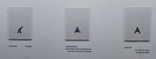pierre d. la-Galería de personajes-Apollinaire-Antonin Artaud-Hans Arp