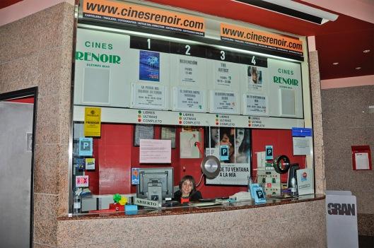 Cines Renoir Audiorama-Taquilla-Foto AtmosferaCine
