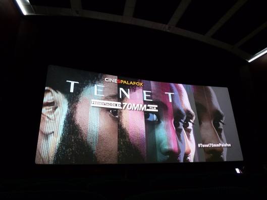 Tenet-Christopher Nolan-Palafox Zaragoza-70 mm-Foto Atmosfera Cine