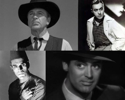 Gary Cooper-Charles Boyer-Boris Karloff-Cary Grant
