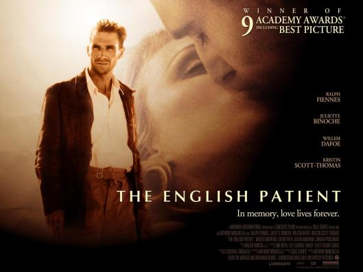 El paciente inglés-Poster filme
