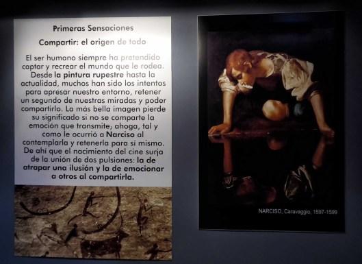 Exposición cine-Centro Historias Zaragoza-2020-Narciso-Pintura rupestre-Foto Atmosferacine