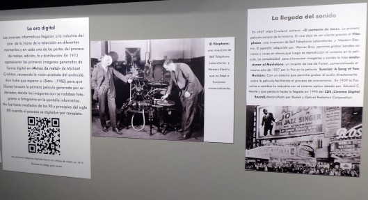 Exposición cine-Centro Historias Zaragoza-2019-2020-Inicios sonido-Foto Atmosferacine