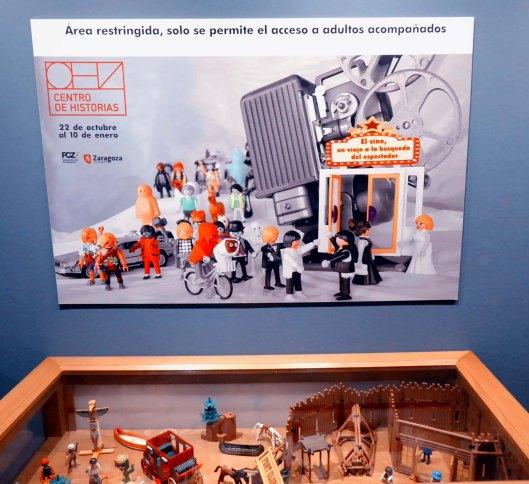 Exposición cine-Centro Historias Zaragoza-Cine y Playmobil-Foto Atmosferacine