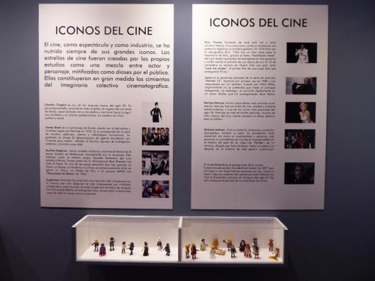 Exposición cine-Centro Historias Zaragoza-Cine y Playmobil-Iconos cine-Foto Atmosferacine
