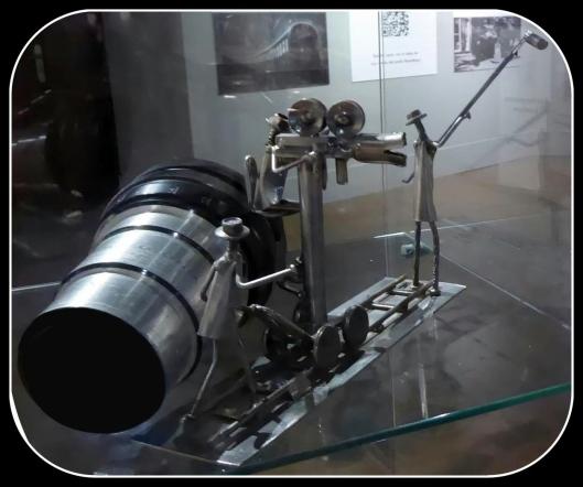 Cine-Exposición Centro Historias Zaragoza-Detalle vitrina-Foto Atmosferacine