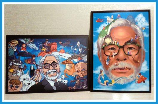 Hayao Miyazaki-Tablas retrato-Foto Atmosferacine