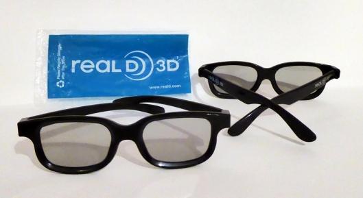 Gafas 3D segunda generación-Foto Atmosferacine