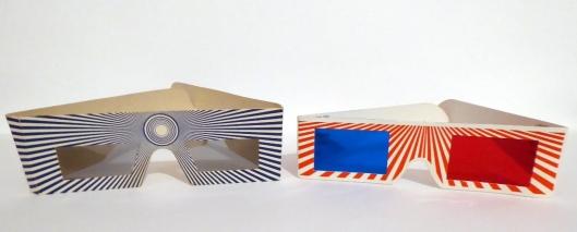 Gafas 3D primitivas-Foto Atmosferacine