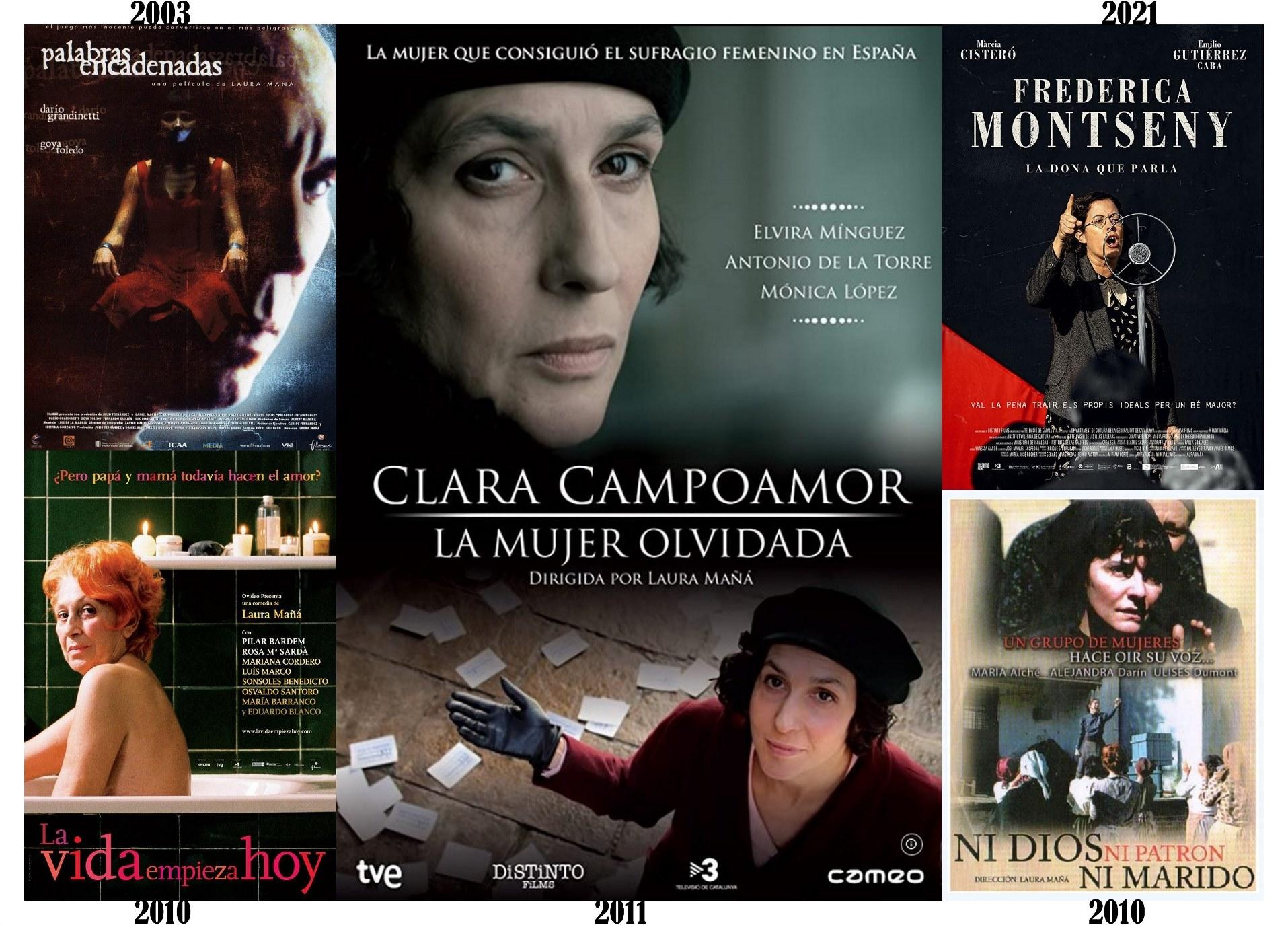 Laura Mañá-Filmografía como directora
