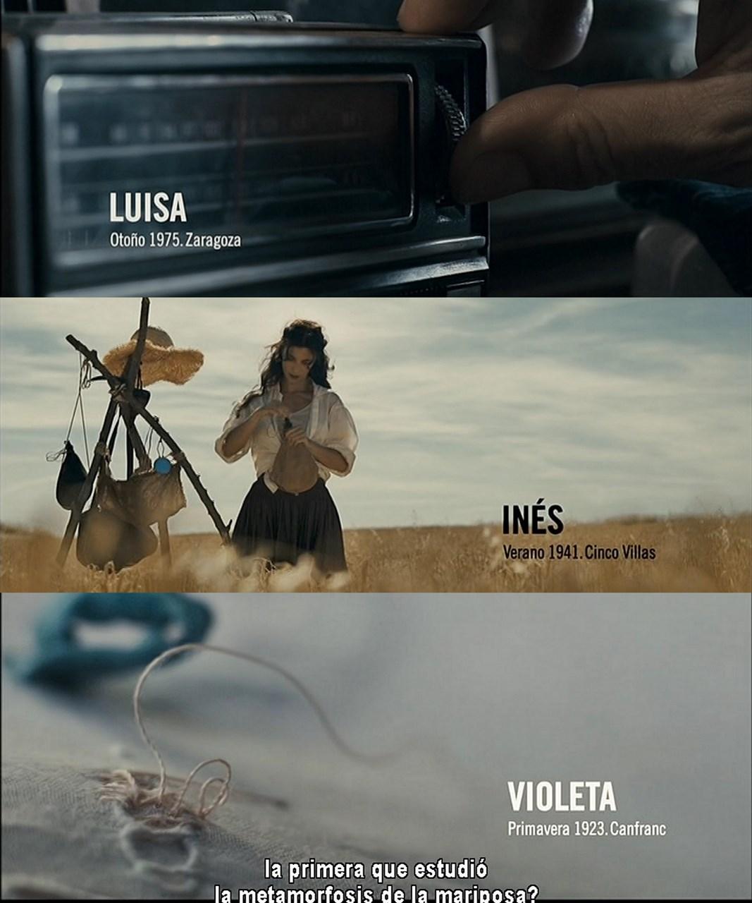 De tu ventana a la mía-Presentación Protagonistas-Inés-Violeta-Luisa