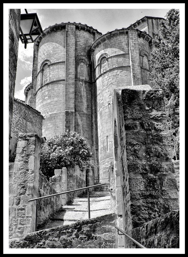 Sos Rey Catolico-Iglesia San Esteban-Absides-Foto AtmosferaCine