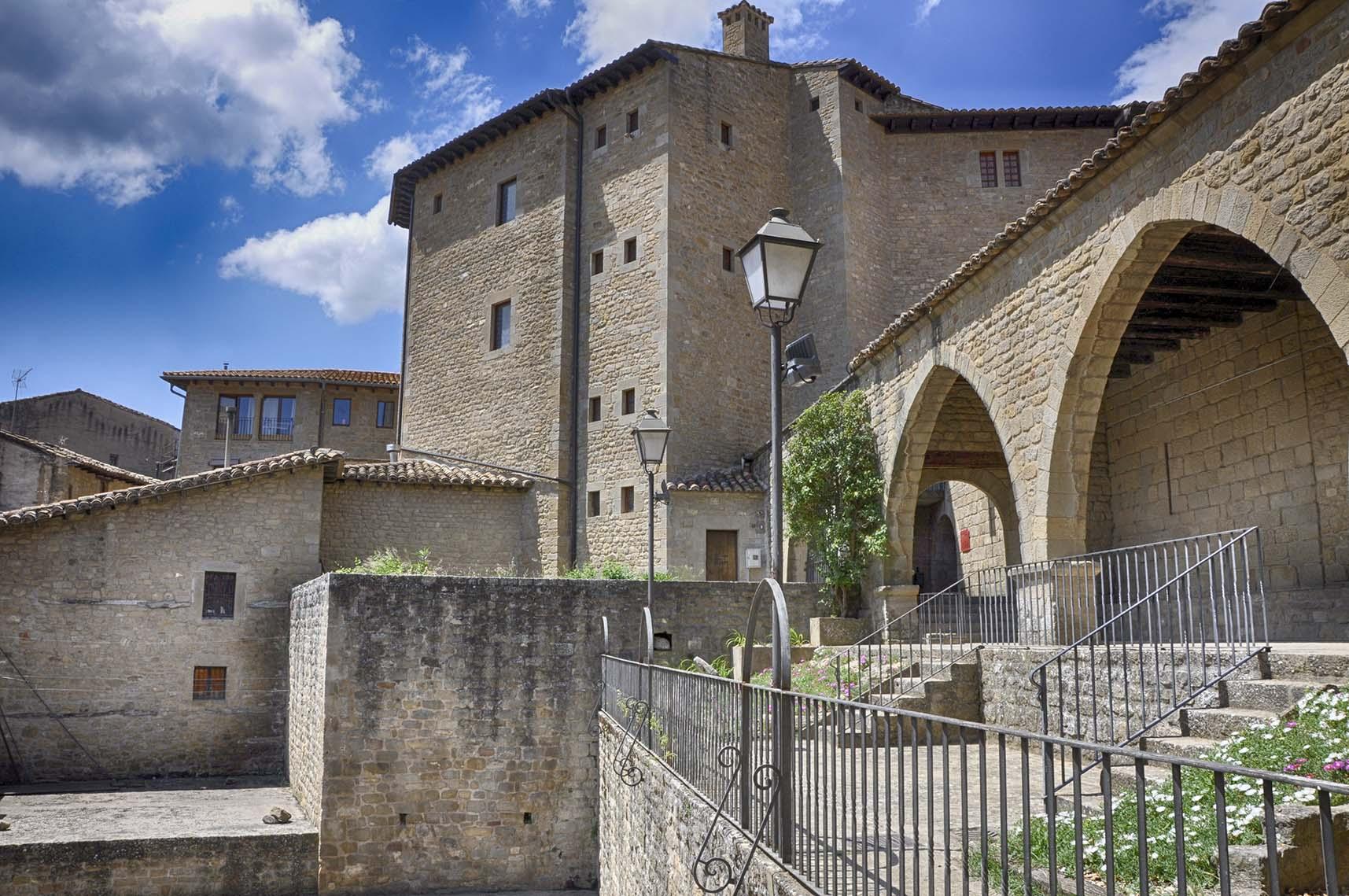 Sos Rey Catolico-Lonja Medieval-Foto AtmosferaCine