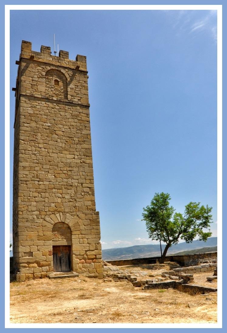 Sos Rey Catolico-Torre Homenaje Castillo Medieval-Foto AtmosferaCine