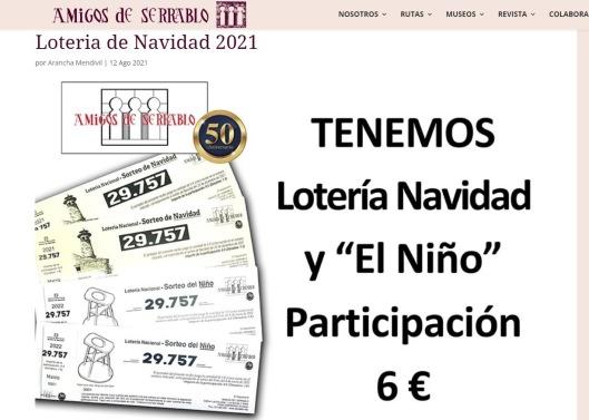Amigos del Serrablo-Lotería 2021