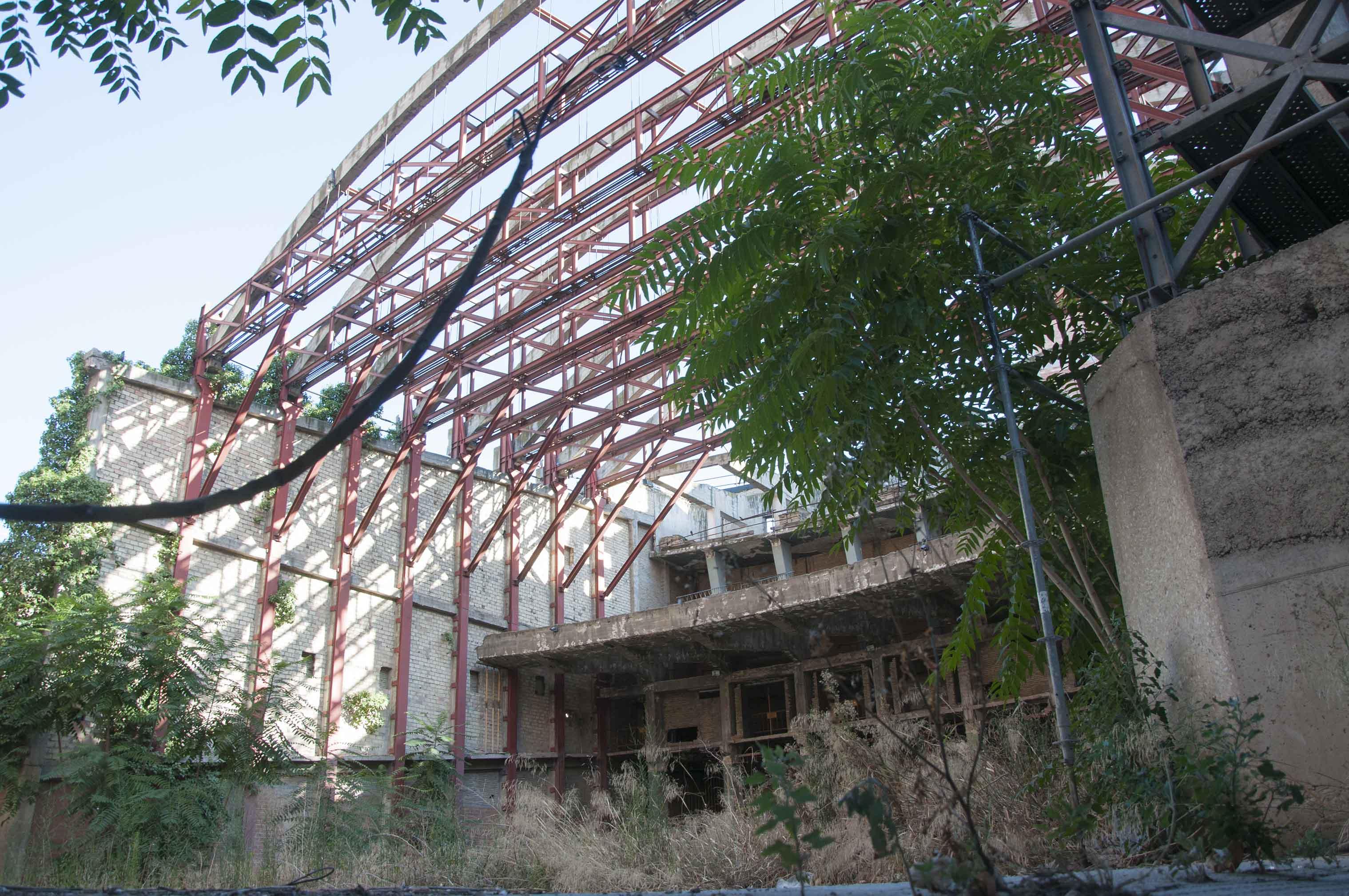 Cine Fleta-Ruinas-Zaragoza
