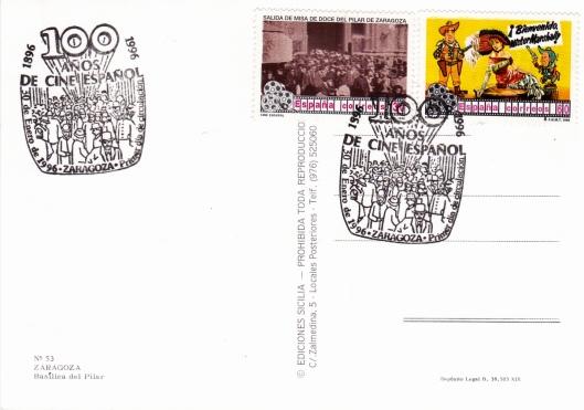 Sellos Correos-Centenario Cine Español-1996-Matasellos especial-Foto AtmosferaCine (1)